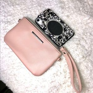 Steve Madden Light Pink Purse with Charger